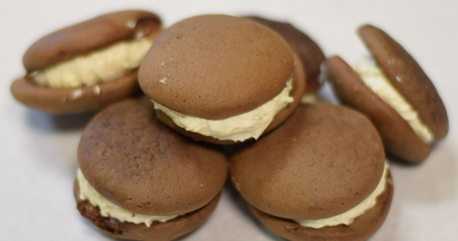 Stacked Chocolate Peanut Butter Gobs