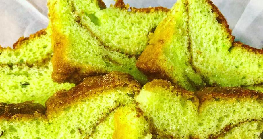 Pistachio Bread Dessert